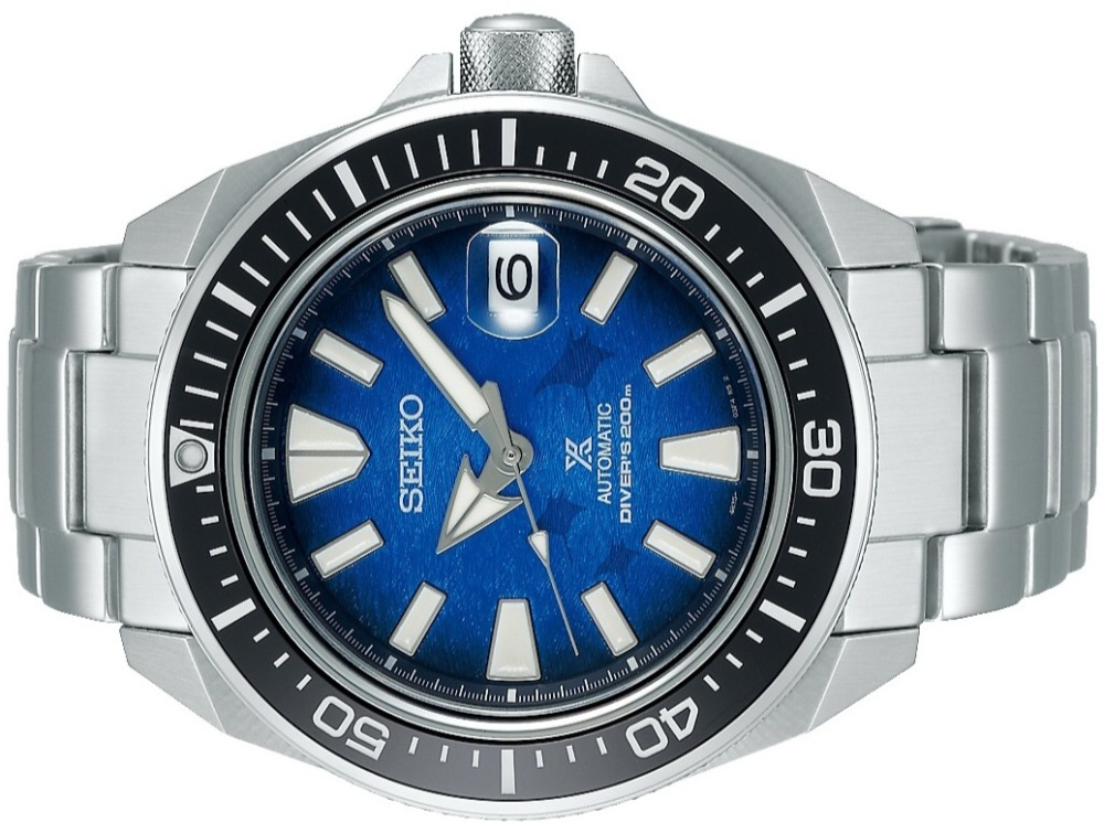 SEIKO Prospex Save the Ocean MANTA RAY Samurai SE SBDY065 SRPE33_seikophd