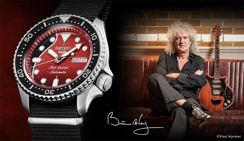Relojes de rockeros Seiko-5-red-special-brian-may_seikophd