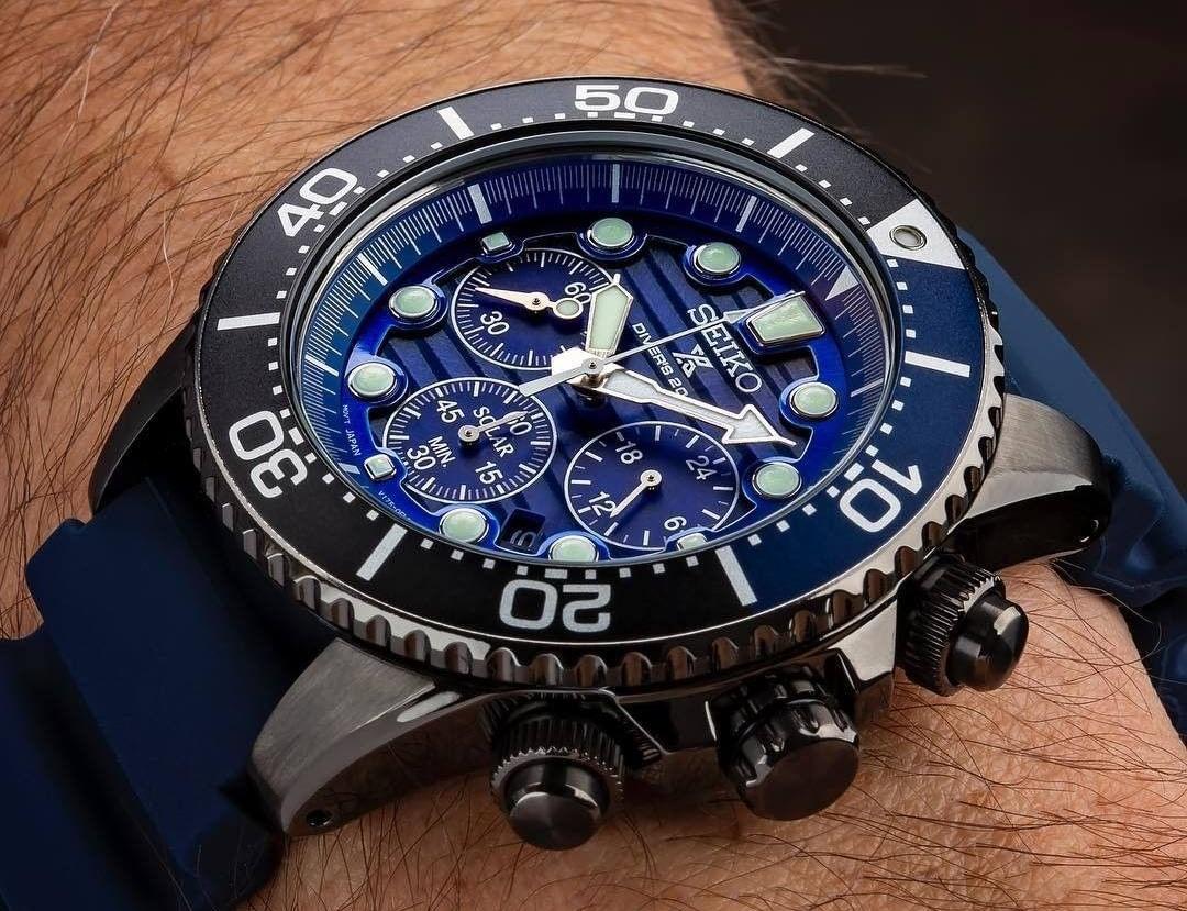 Seiko Solar Chronograph SSC701 save the ocean_seikophd_@tyalexanderphotography