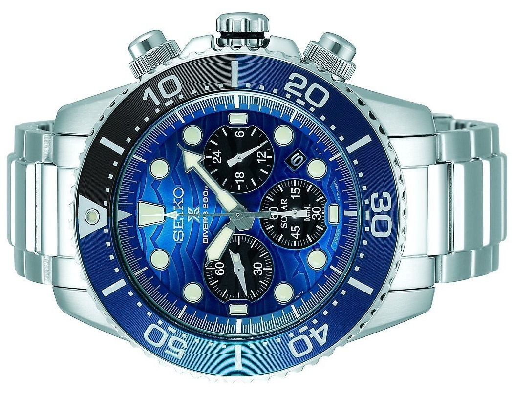 Seiko Prospex Solar Chronograph SSC741 The Great White Shark Save the Ocean Special Edition_seikophd