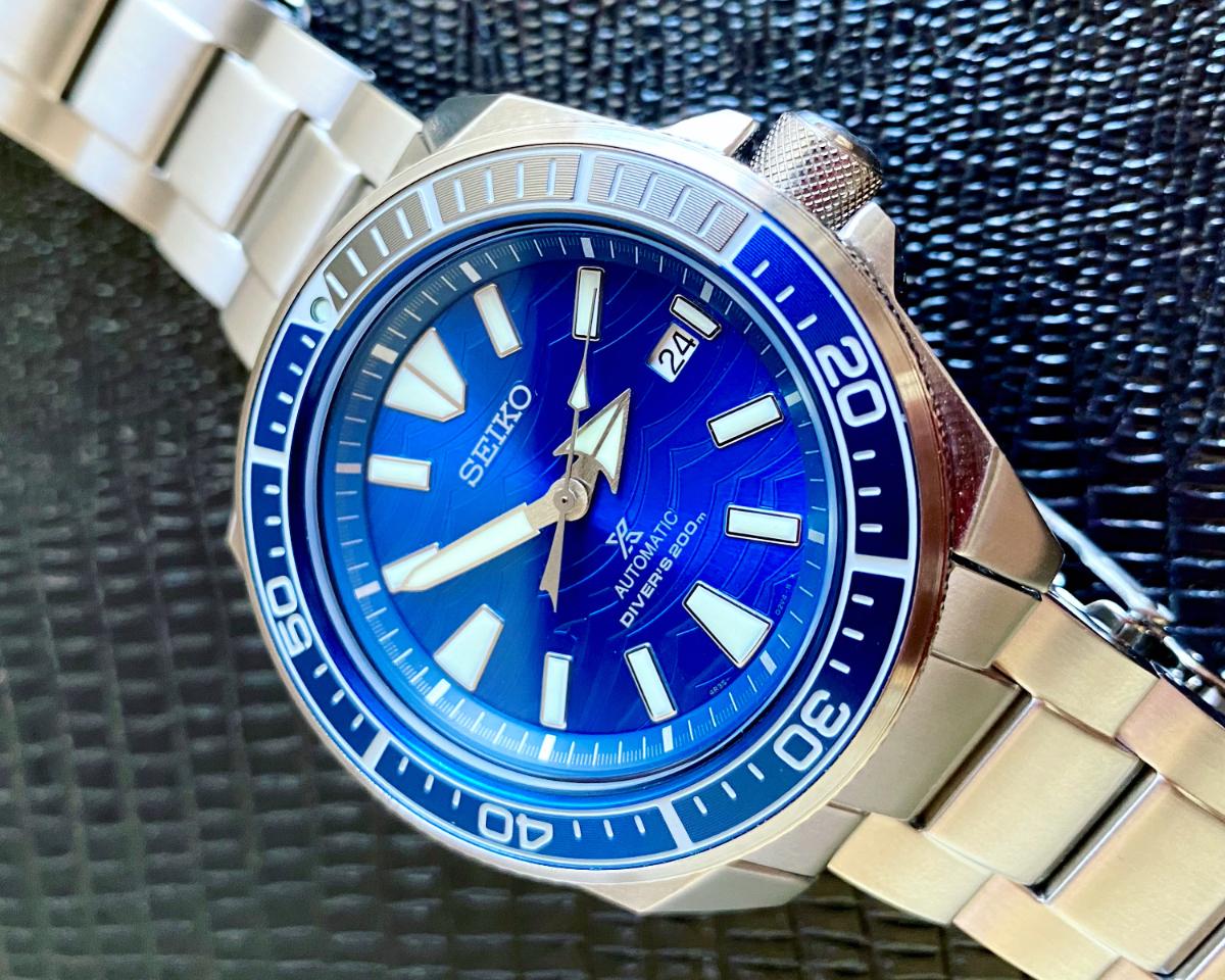 Seiko Prospex Samurai SRPD23 The Great White Shark Save the Ocean Special Edition_seikophd