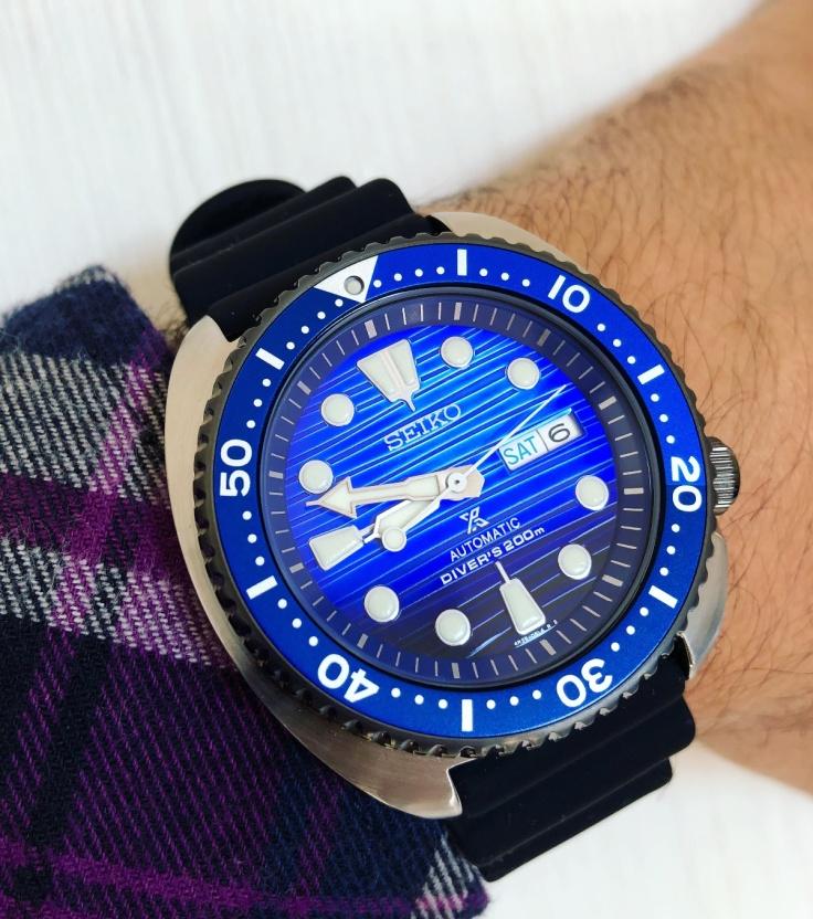 Seiko Prospex Turtle Save the Ocean SRPC91_seikophd